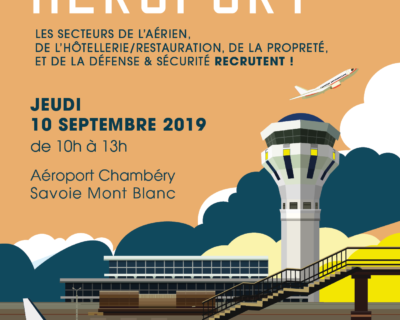 Le Job dating Aéroport de retour le 10 septembre